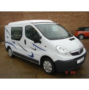 Vauxhall Vivaro Quot D Kamper Quot Just Rvs