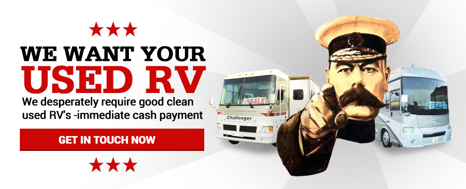 We need your used RV